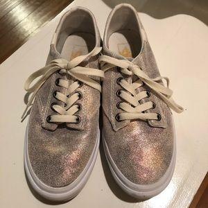 NEW Vans Camden Stripe Metallic Galaxy Sneakers